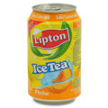canette ice tea peche